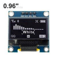 0.96'' SSD1306 I2C OLED Display