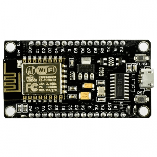 NodeMCU Take Lolin V3 Mode ESP8266 12E