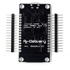 NodeMCU Lua Lolin V3 module with ESP8266 12E (unsoldered)