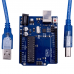 UnoR3 ATmega328P with USB cable