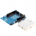 Prototyping Shield for Arduino Uno R3 including the Breadboard