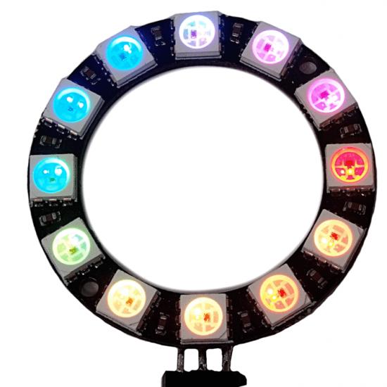 RGB LED Ring WS2812 12 RGB LEDs 5V for Arduino