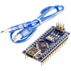 Nano V3.0, CH340G soldered with USB cable