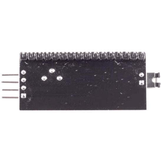 I2C serial interface for LCD Displays