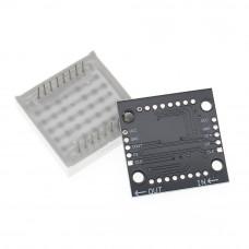 "MAX7219 8x8 ""the 64er"" LED Dot Matrix display"