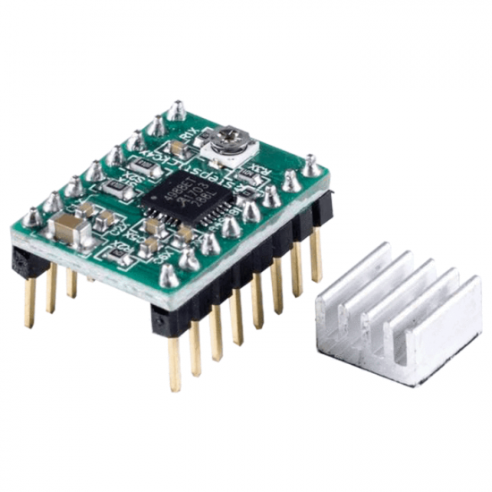 A4988 stepper motor driver module with heat sink