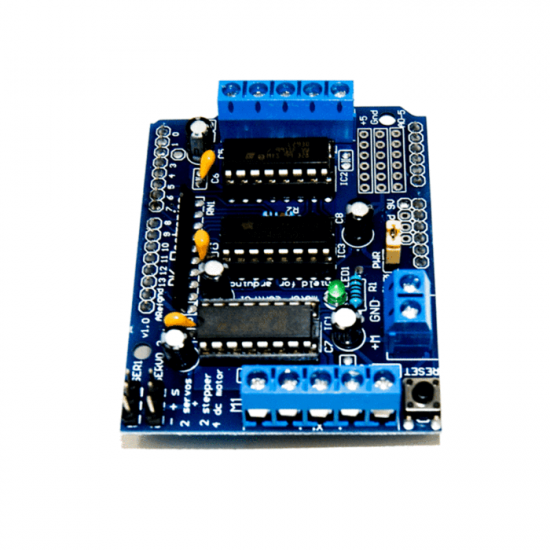 4-channel L293D motor driver Shield stepper motor driver