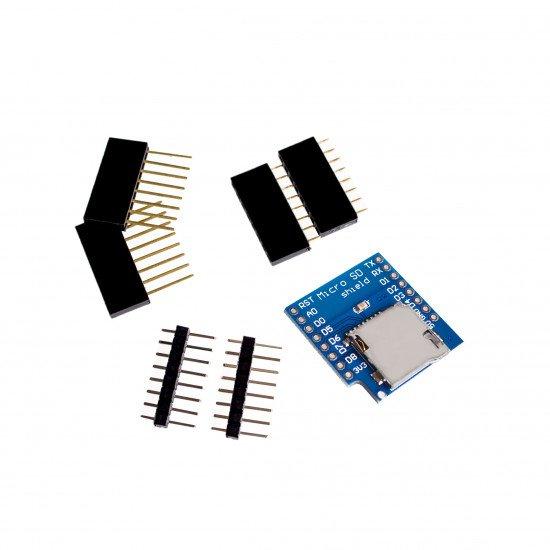 Micro SD  WeMos D1 Shield