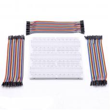 3x Breadboard + 3x Jumper Wire