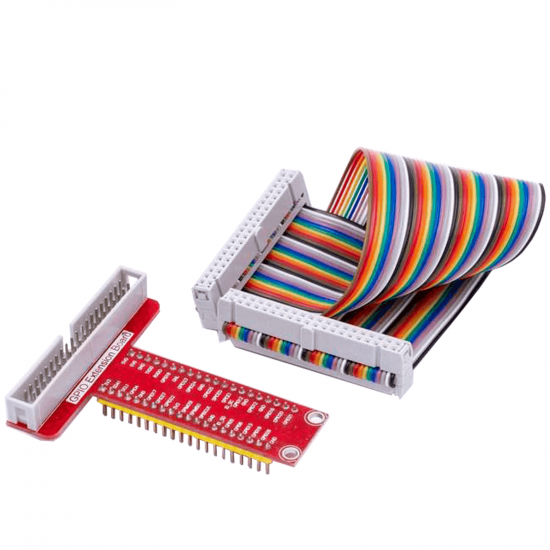 Raspberry Pi Plus Breadboard Breakout GPIO adapter