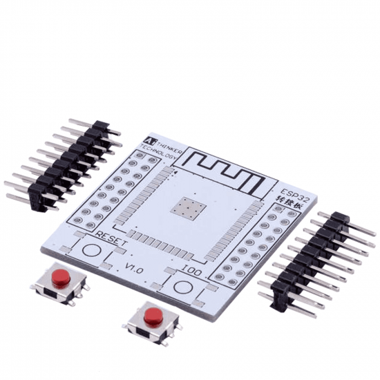 Adapter plate for ESP32 (Breakout)