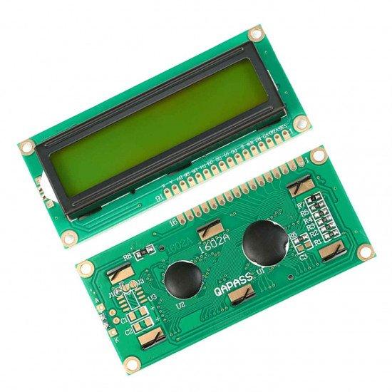 HD44780 1602 LCD Display Green