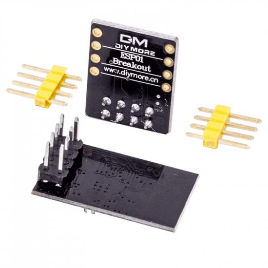 ESP8266-01S with Breadboardadapter