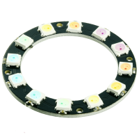 RGB LED Ring WS2812b 12 RGB LEDs 5V 50mm