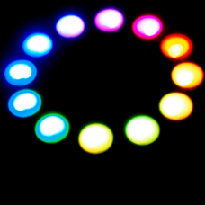 RGB LED Ring WS2812b 12 RGB LEDs 5V 50mm