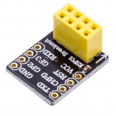 Breadboard adapter for ESP8266-01
