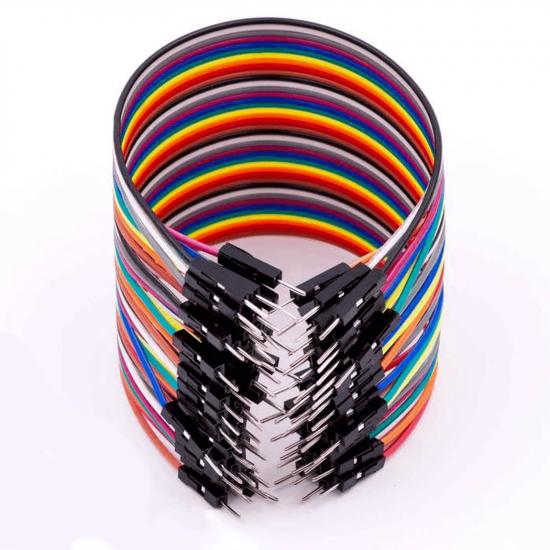 Jumper Wire Male to Male 20cm 40pcs