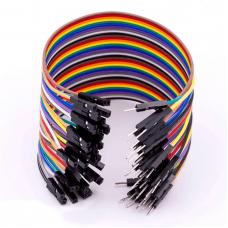 Jumper Wire Male to Female 20cm 40pcs
