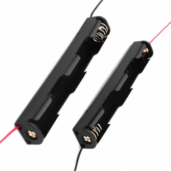 Long Strip 2xAA Battery Box