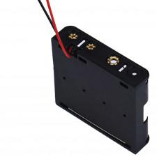 4 x AA Battery holder flat