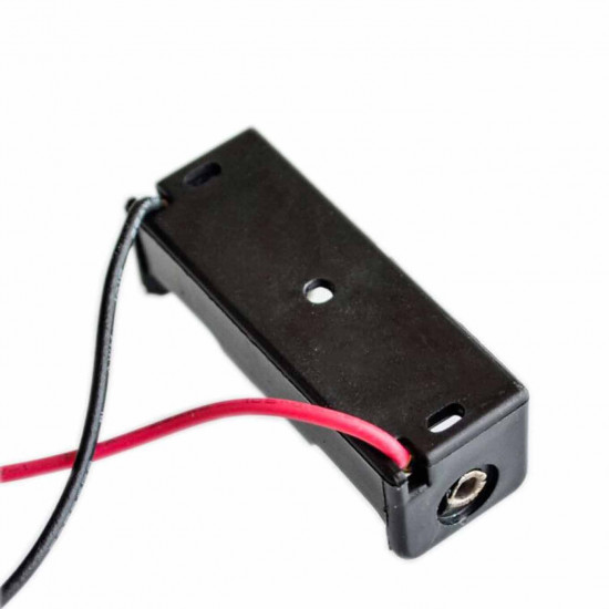 12v battery holder case