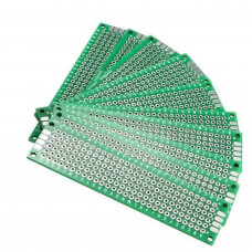 Universal PCB 2x8cm DoubleSided