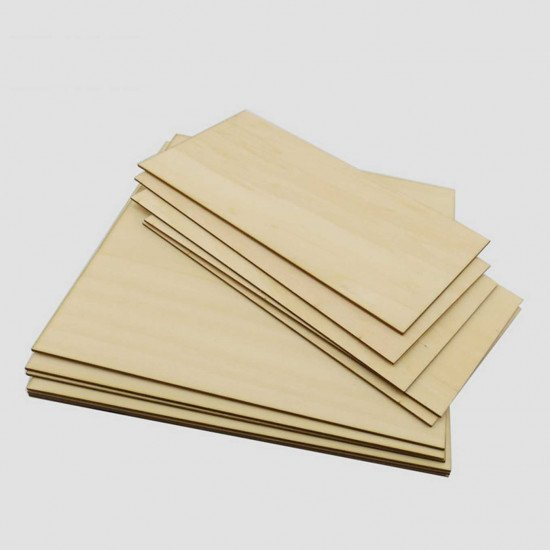 basswood plywood 300x200x1.5mm