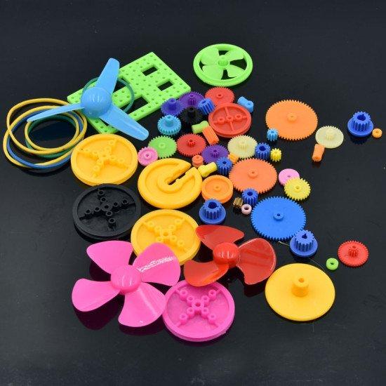 Colorfull gears kit 55pcs