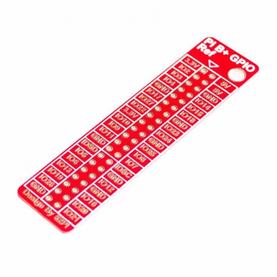 Raspberry Pi B GPIO Reference Board