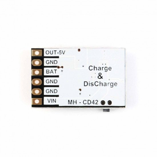 MH-CD42 4in1 DC 5V 2.1A Mobile Power Diy Board LiPo Charger 3.7V 2A IN 5V + LED Level