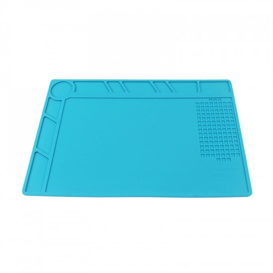 Antistatic silicone soldering mat