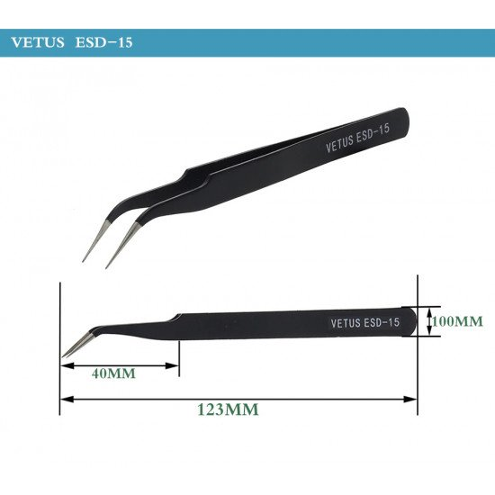 VETUS ESD tweezers kit