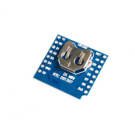 RTC DS1307  WEMOS D1 Mini Shield