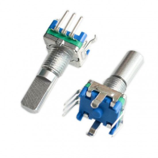 EC11 rotary encoder with switch