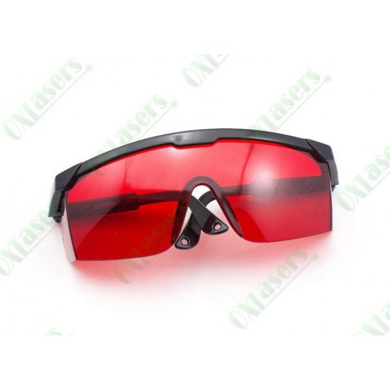 Protective laser glasses.