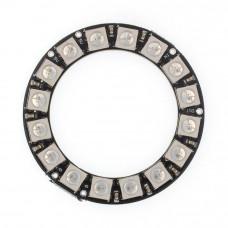RGB LED Ring WS2812b 16RGB LEDs 5V 45mm