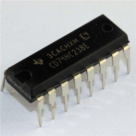 74HC238 DIP 1 of 8 Decoder/Demultiplexer