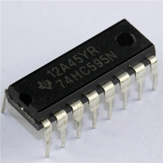 74HC595 3-State SIPO Shift register DIP