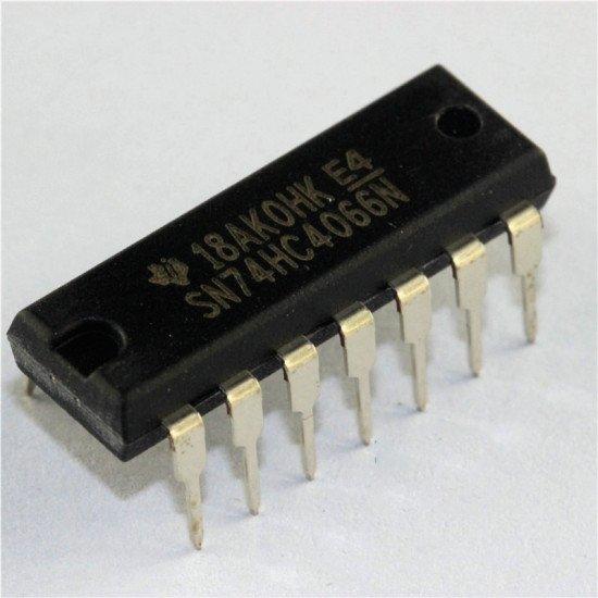 74HC4066 Quad bilateral switch DIP