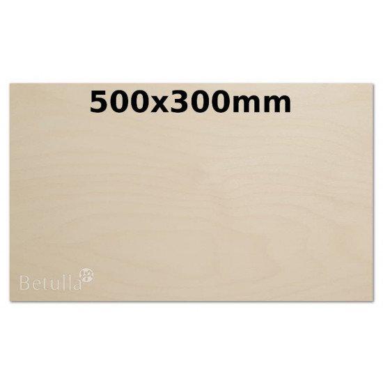 Birch plywood 3mm 300x500