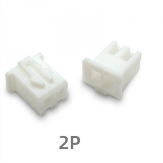 XH2.54mm, 2p connector shell pack of 10