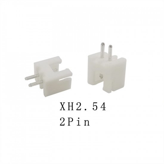 XH2.54mm socket 2p pack of 10