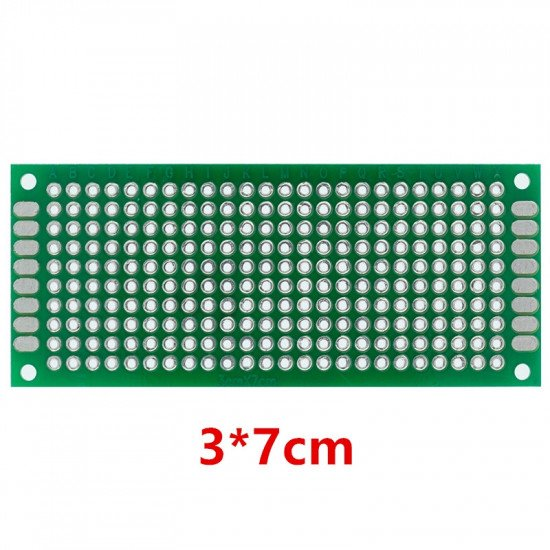 Universal PCB 3x7cm DoubleSided