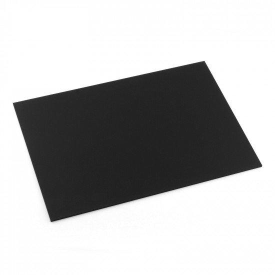 Cast Acrylic 3mm A4 Black Polycasa 3945
