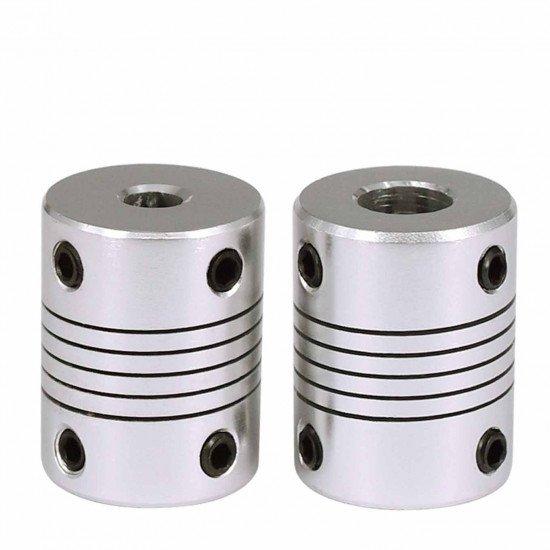 Flexible shaft coupler 5mm-5mm