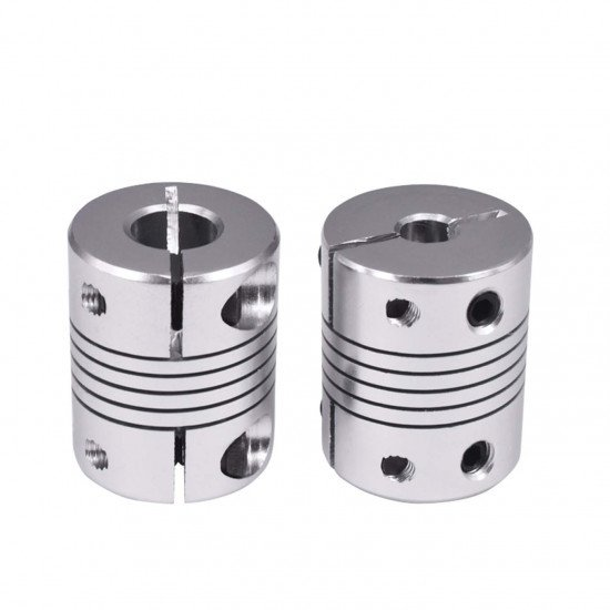 New syle clamping flexible shaft coupler 5mm-8mm