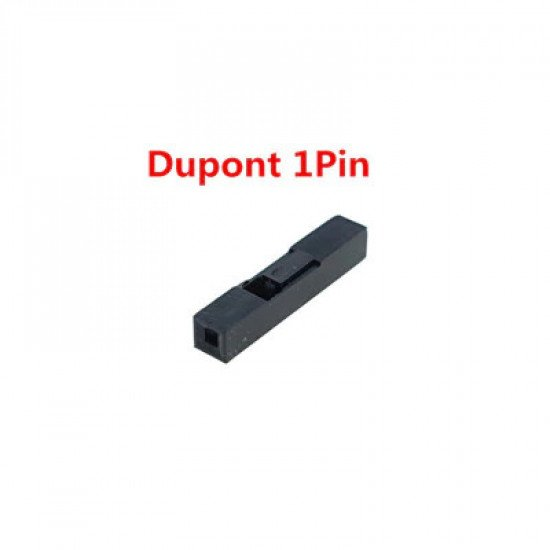 Dupont Style 2.54mm Pin Housing, 1p pack of 10