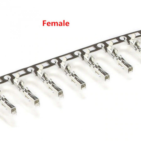 Dupont Style 2.54mm Crimp Terminal female, strip of 25.