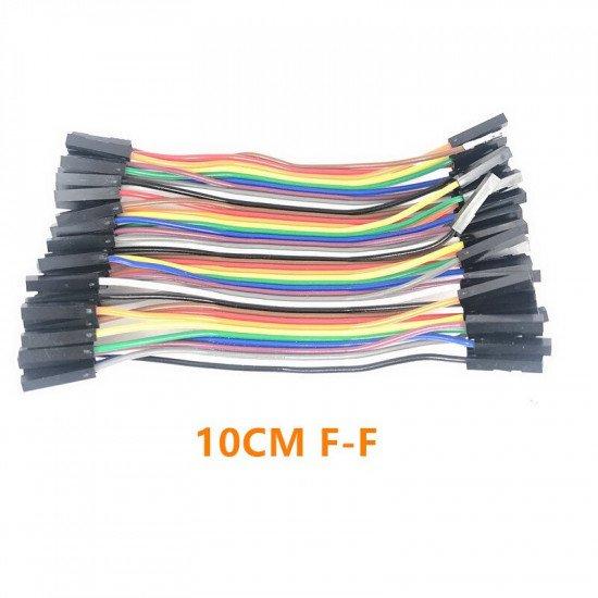 Jumper Wire Female to Female 10cm 40pcs